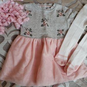 💞Catherine Malandrino Ballerina Dress/Tights💞